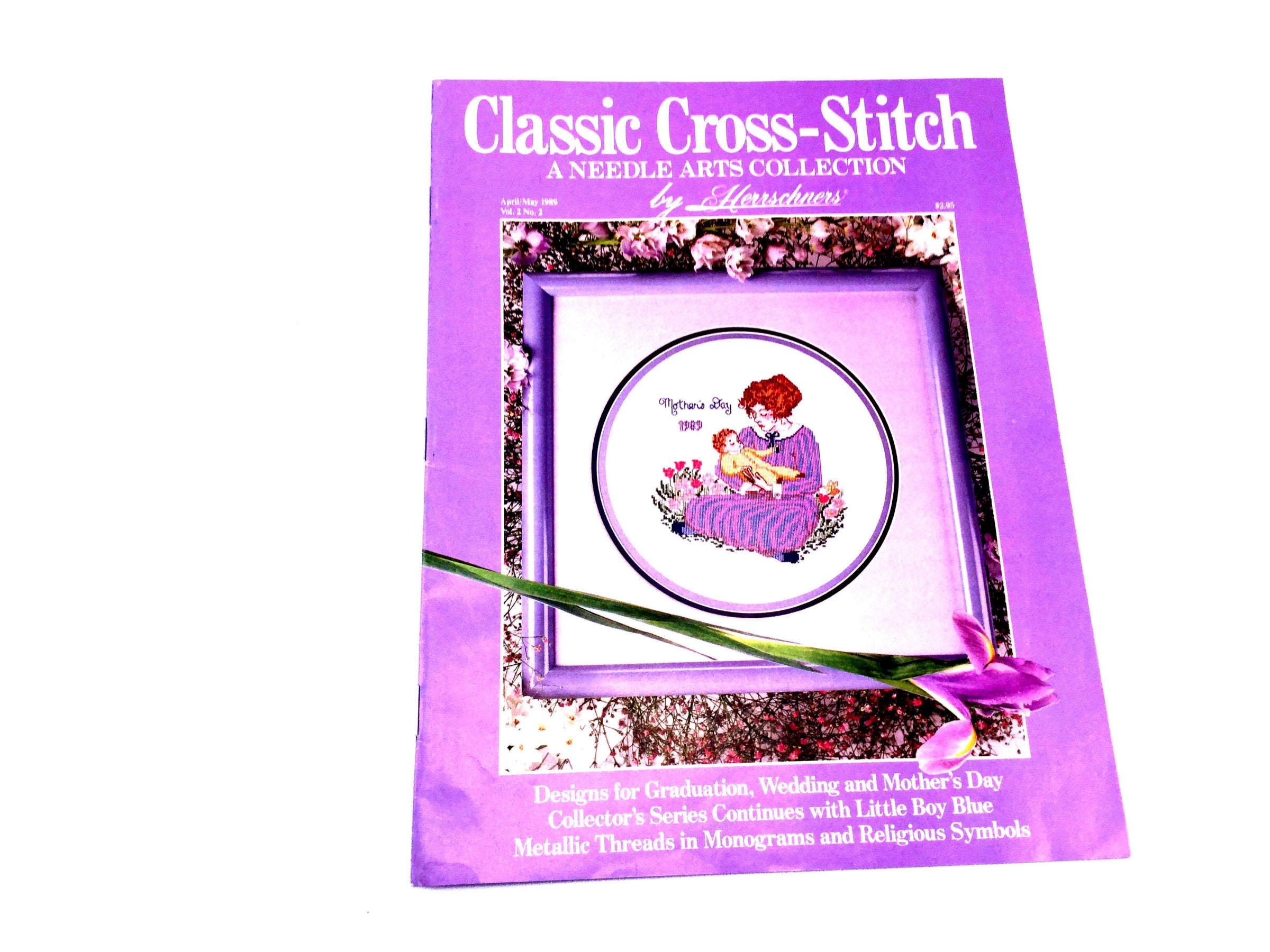 Classic Alphabets Embroidery /& Cross Stitch Patterns by Herschners