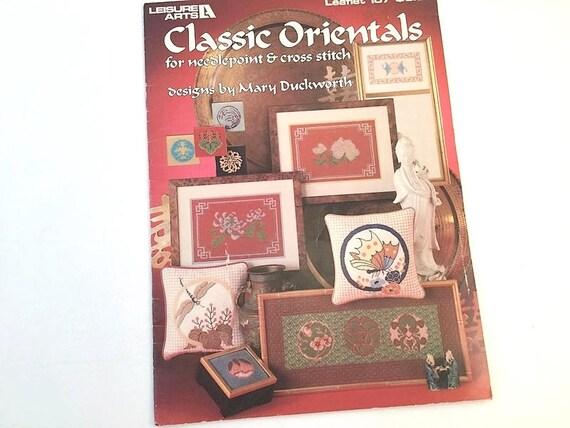 Orientalische Muster Kreuzstich-Muster Stickerei Muster   Etsy