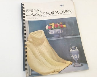 Bernat Classics for Women Knitting Pattern Book