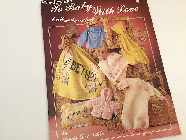 c152118b4 To Baby with Love Knitting Pattern Crochet Pattern Baby