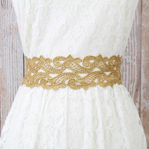 Gold Lace Belt