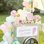 Balloon Garland Kit - Ice Cream Dream - Pastel Pink, Mint and Light  Yellow Balloon Garland - Ice Cream Party Balloons