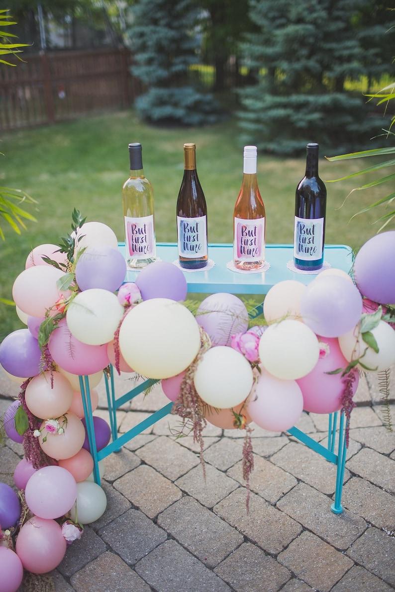 Bridal Shower Balloons Sunset Lavender Balloons Pink Balloon Garland Kit Blush