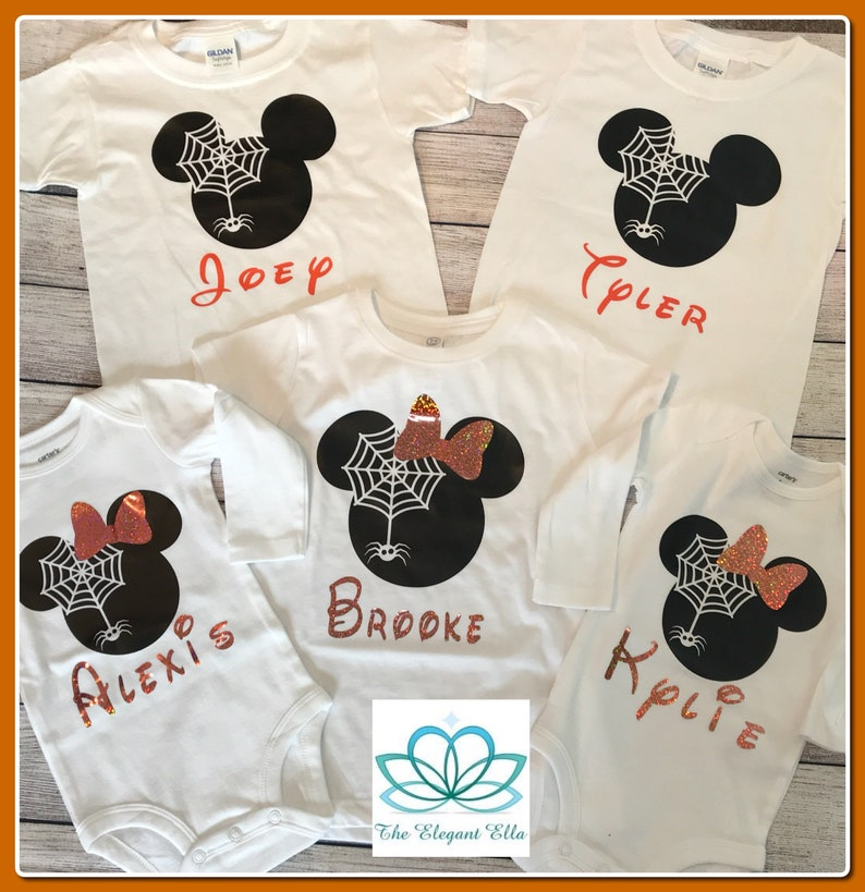 Disney Halloween Shirts Etsy.Disney Halloween Shirt Mickey And Minnie Halloween Shirts Family Disney Halloween Vacation Shirts