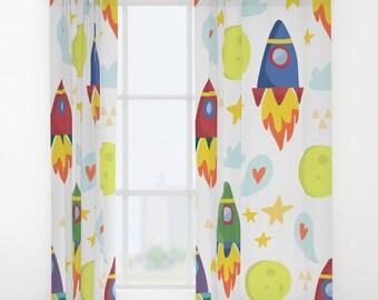Eule Vorhang Kinder Vorhang Kinderzimmer Vorhang Owl Etsy