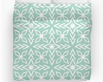 Items Similar To Arrows Duvet Cover Arrows Comforter Mint