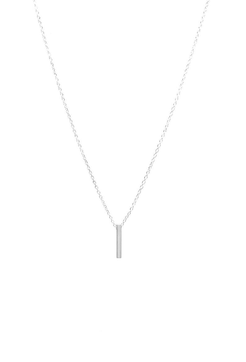 Minimalist bar necklace image 0