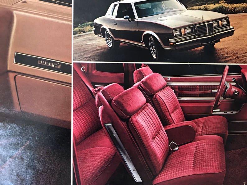 Vintage Car Brochure 1979 Pontiac Car Dealer Booklet Vintage Auto American  Car Automobile Ephemera Pontiac Grand Am LeMans Auto Memorabilia