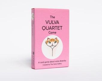 The Vulva Quartet Game • A card game about vulva diversity • by The Vulva Gallery