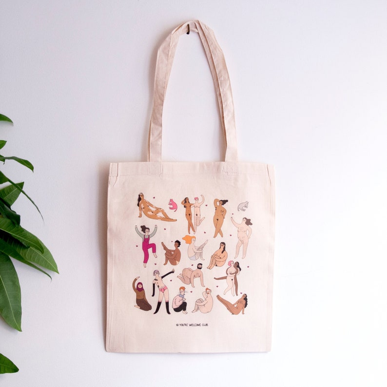 Celebrate Diversity  Tote bag  You're Welcome Club image 0