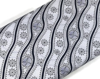 Australian Aboriginal Cotton Quilting Fabric by the YARD. M&S Textiles Stars in the Sky White. For sewing, quilting, apparel, home décor.