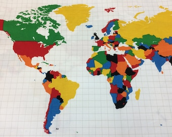 world map fabric global fabric world map our world map