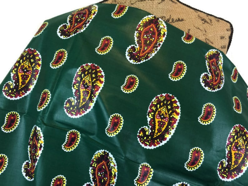 7b4fdca7d3 African FabricWax Print FabricAnkara Print FabricGreen