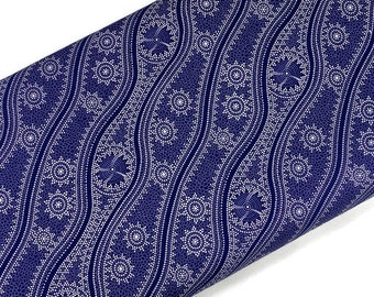 Australian Aboriginal Cotton Quilting Fabric by the YARD. M&S Textiles Stars in the Sky Purple. For sewing, quilting, apparel, home décor.