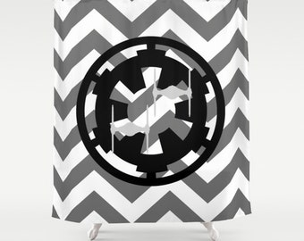 Star Wars Galactic Empire And Chevrons Shower Curtain