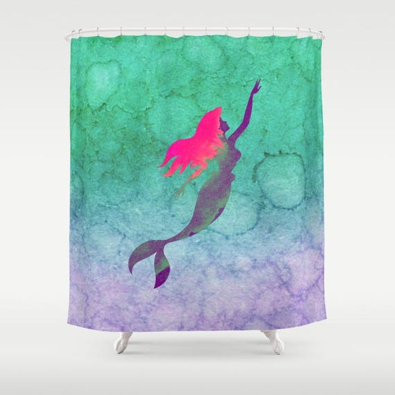 Disney Shower Curtain Ariel The Little