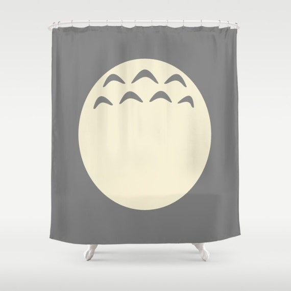Totoro Curtain Studio Ghibli Shower Bathroom