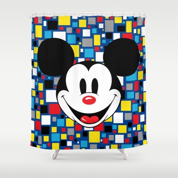 Mickey Mouse Club House Shower Curtain