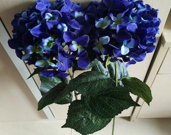 Navy blue flowers | Etsy