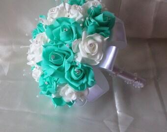 Turquoise Bouquet Etsy