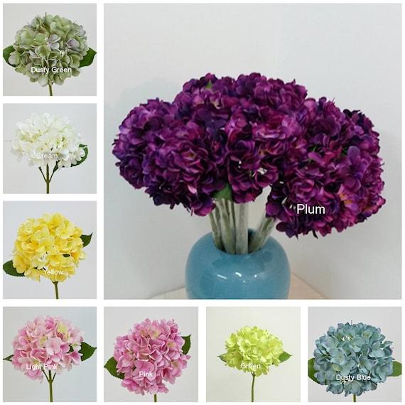 Herbst Hochzeit Blumen Herbst Seide Hortensien Blumen 10 Etsy