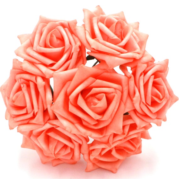 Coral Wedding Centerpieces Fake Flowers Coral Reef Individual Etsy