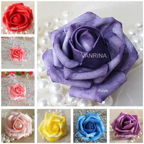 12 Nelken Deko Blütenköpfe 7cm Nelke Künstliche Kunst Seiden Blumen Floristik