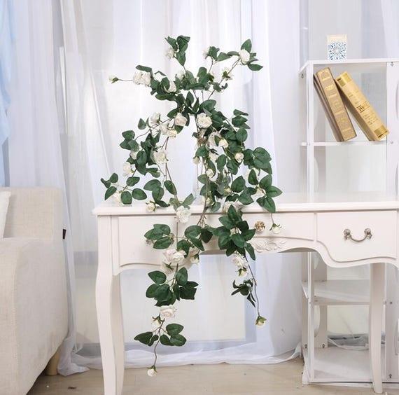 Hochzeit Girlande Blumen Hochzeit Bogen Blumen 2 Rose Ranken Etsy