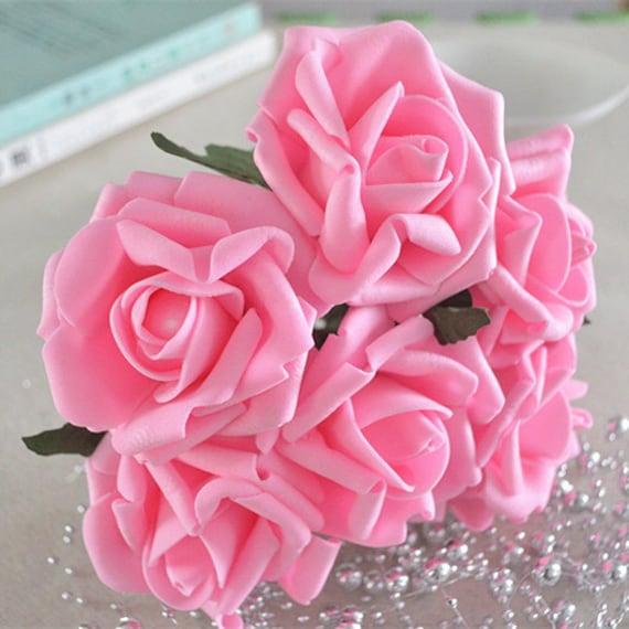 Mariage Fleurs Flower Girl Bouquet en rouge vif et Ivoire Roses