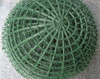 20cm Plastic Ball Artificial Flower Ball Rack Kissing Ball Pomander Holder Frame For Wedding Prom Party Festival Arrangement