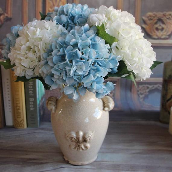 Silk Hydrangea Artificial Flowers Wedding Centerpieces Etsy