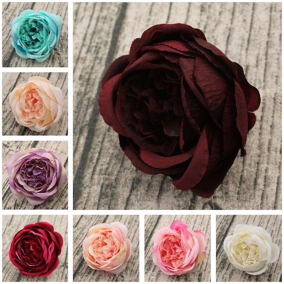 Silk peony flowers artificial peonies 100 heads wholesale etsy image 0 mightylinksfo