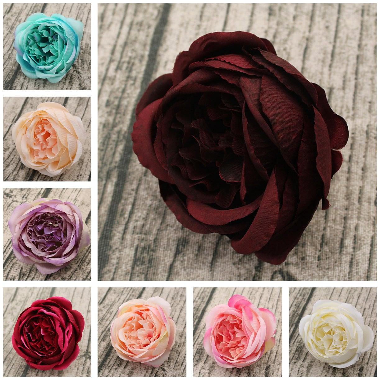 Silk Peony Flowers Artificial Peonies 100 Heads Wholesale Etsy