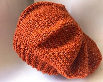 0206df52dd3 Crochet Slouch Beanie Hat
