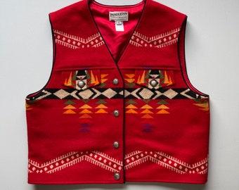 Vintage Pendleton wool vest