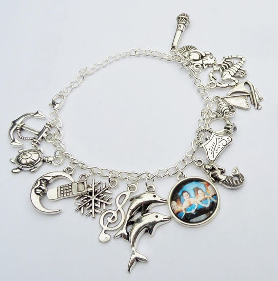 Mako Mermaids Bracelet. Bracelet with charms H2o just add   Etsy