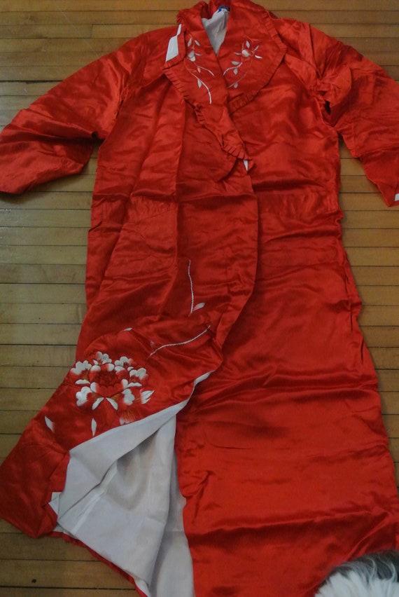 Japanese Chinese Pajama Set Embroidered Pajamas Ja