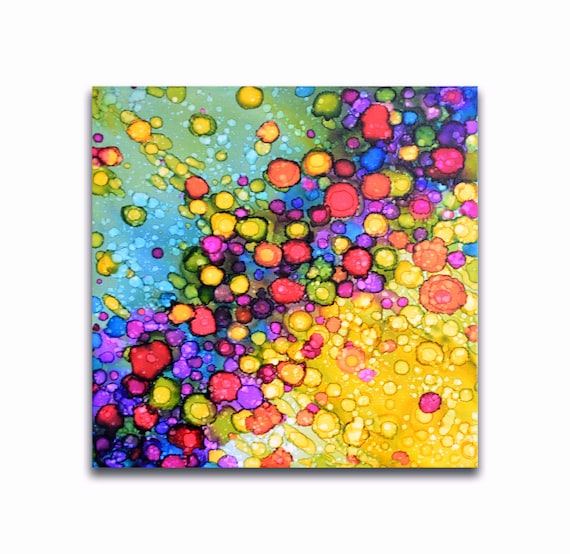 Colorful Dorm Room: Small Art For Kids Colorful Dorm Room Wall Decor Modern