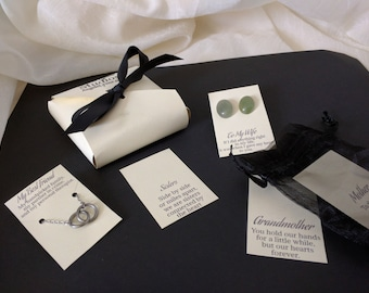 Add-on custom made to order gift wrap packaging