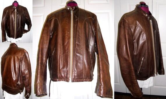 Vintage Schott Motorcycle Jacket, Vintage SCHOTT B