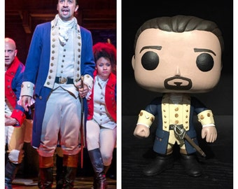 "Custom Funko Pop: Alexander Hamilton from ""Hamilton"" the Musical"