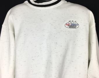 90s black colorful speckleded short sleeve pullover teebasic cotton crew neck tshirtCroft and Barrowmedium