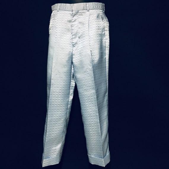 80s Vintage Womens Zoot Pant Suit Size 4 US Crop … - image 5