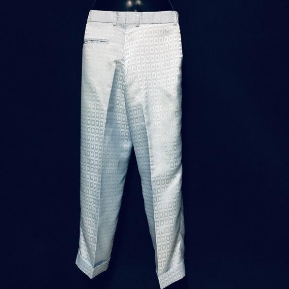 80s Vintage Womens Zoot Pant Suit Size 4 US Crop … - image 6