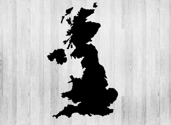 UK Map Stencil World Map Stencil Various Sizes Made From