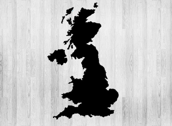 Uk Map Stencil World Map Stencil Various Sizes Made From Etsy