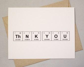 169003ea597 Thank You Chemistry Card Set