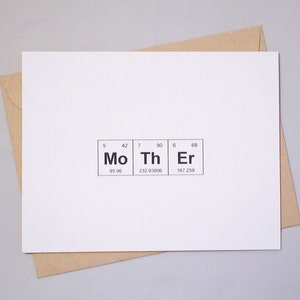 New Baby Periodic Table of the Elements Congratulations Card  NeW BaBY  Sentimental Elements  Science Baby  Chemistry Baby Congrats