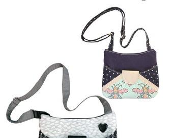 The Dash About Cross Body Bag - PDF Sewing Pattern - Instant download, Handbag, Shoulder Bag, Crossbody Bag Pattern