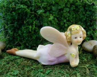 Flower Fairy - Fairy Garden - Terrarium - Miniature Gardening - Accessories